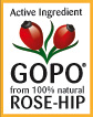 GOPO: Active ingredient from 100% Rose-hip
